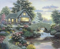 Serenity Cottage Fine Art Print