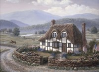 Country Cottage by Richard Burns - various sizes