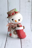 Snowman and Stockings by Sugar High - various sizes