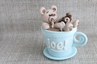 Cup Of Joe Teddy by Sugar High - various sizes