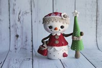 Snowgirl Shopping Tree by Sugar High - various sizes