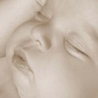 Sleeping Baby Face I Framed Print