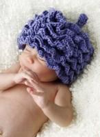 Baby In Blue Hat II Framed Print