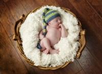 Basket Baby Fine Art Print