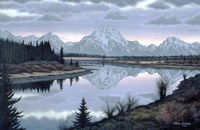 Sunset At Oxbow by Bill Breedon - various sizes