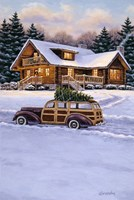 Log Cabin Fine Art Print