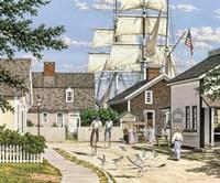 Seaport Wheelman by Bill Breedon - various sizes