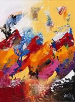 Explosion of Colors 1 Fine Art Print