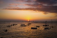Outrigger Sunset by Cameron Brooks - various sizes, FulcrumGallery.com brand
