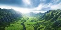 Kaaawa Valley Wide by Cameron Brooks - various sizes