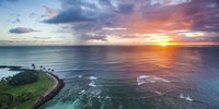 Magic Island Sunset Wide by Cameron Brooks - various sizes