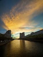 Ala Wai Sunset by Cameron Brooks - various sizes