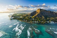 Diamond Head Sunset Fine Art Print