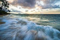 Kahala Beach Waves by Cameron Brooks - various sizes
