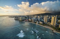 Waikiki Hotels by Cameron Brooks - various sizes