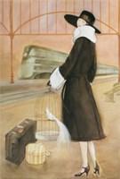 Holiday By Rail Fine Art Print