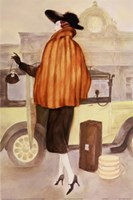 Holiday By Motorcar Fine Art Print