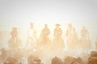 Pushing the Herd by Dan Ballard - various sizes