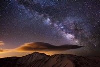 Milky Way Over The Rockies by Dan Ballard - various sizes