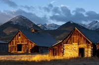 Wet Mountain Valley Sunrise by Dan Ballard - various sizes