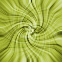 Lime Swirls Fine Art Print