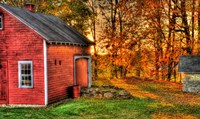 Autumn Barn Fine Art Print