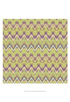 Chevron Waves V Fine Art Print