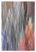 "Brush Panels II by James Burghardt - 13"" x 19"", FulcrumGallery.com brand"