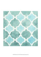 Watercolor Tile II Fine Art Print