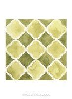 Watercolor Tile IV Fine Art Print