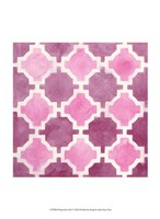 Watercolor Tile V Fine Art Print
