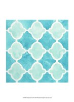 Watercolor Tile VI Fine Art Print