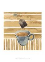"""Cafe au Lait III by Grace Popp - 10"""" x 13"""""""