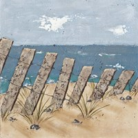 Beach Scene Triptych II by Jade Reynolds - various sizes