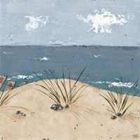 Beach Scene Triptych III by Jade Reynolds - various sizes