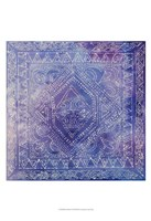 Batik Nebula I Framed Print
