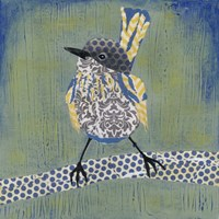 Patchwork Wren I by Grace Popp - various sizes