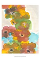 Floral Cascade I Framed Print