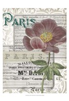 Musical Paris I Fine Art Print