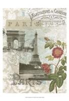 "Visiting Paris by Jennifer Goldberger - 13"" x 19"""