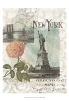 "Visiting New York by Jennifer Goldberger - 13"" x 19"""
