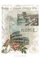 "Visiting Rome by Jennifer Goldberger - 13"" x 19"""