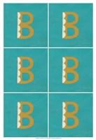 "Lucien's B 6-Up by Chariklia Zarris - 13"" x 19"""