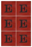 "Lucien's E 6-Up by Chariklia Zarris - 13"" x 19"""