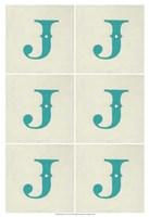 "Lucien's J 6-Up by Chariklia Zarris - 13"" x 19"", FulcrumGallery.com brand"