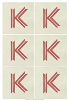 "Lucien's K 6-Up by Chariklia Zarris - 13"" x 19"", FulcrumGallery.com brand"