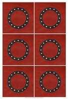 "Lucien's O 6-Up by Chariklia Zarris - 13"" x 19"", FulcrumGallery.com brand"