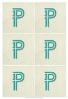 "Lucien's P 6-Up by Chariklia Zarris - 13"" x 19"", FulcrumGallery.com brand"