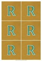 "Lucien's R 6-Up by Chariklia Zarris - 13"" x 19"", FulcrumGallery.com brand"