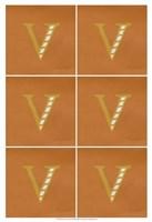 "Lucien's V 6-Up by Chariklia Zarris - 13"" x 19"", FulcrumGallery.com brand"